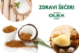 kokosov šećer, brezin šećer. tršćani šećer, zdravi šećeri